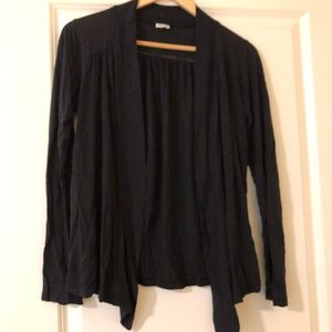 Splendid black cardigan XS